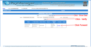 Paymanager Employee Name Correction