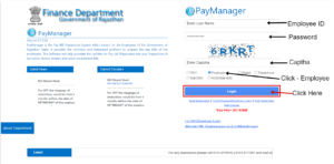Paymanager Employee Login